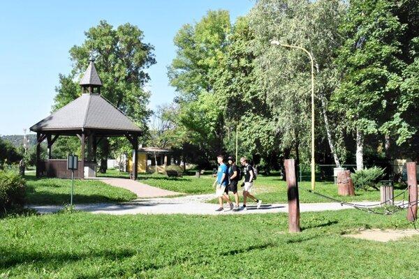 Park Anička je rozlohou najväčším z tých, o ktoré sa stará Správa mestskej zelene.