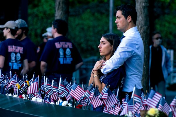 V New Yorku si pripomínajú 20. výročie teroristických útokov.