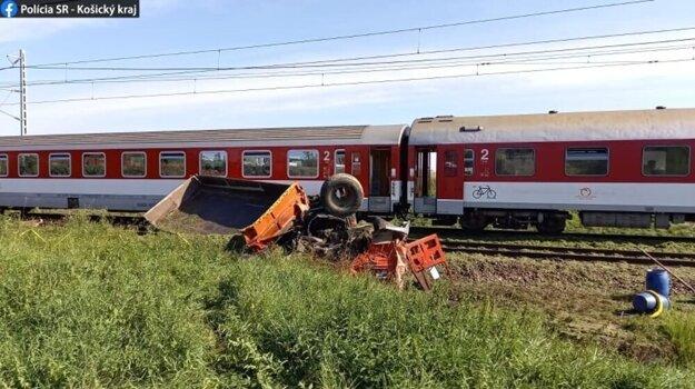 Hrôzostrašný obrázok z nehody na Spiši.