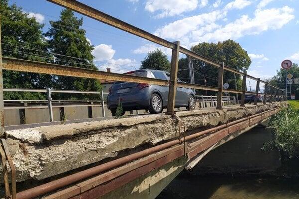 Most v Opatovciach nad Nitrou.