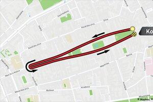 Stredajší prológ na Hlavnej ulici bude mať štart i cieľ pri Dolnej bráne