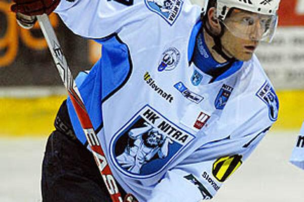 Český legionár Lubomír Korhon strelil v Žiline štvrtý gól Nitry.