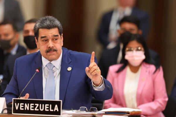 Venezuelský prezident Nicolás Maduro na summite CELAC v Mexiku.