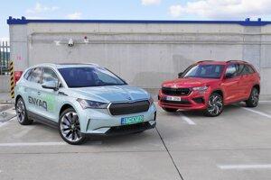 Škoda Enyaq iV a Škoda Kodiaq RS