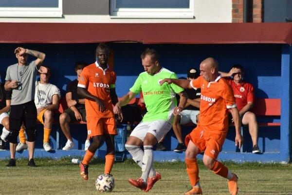 Vydrany (v oranžovom) dnes vybojovali druhé víťazstvo v sezóne.