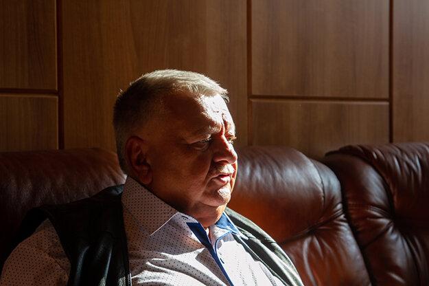 Zakladateľ spoločnosť Mäspoma Ján Kolesár.