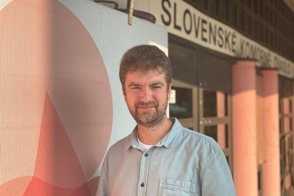 Tibor Kubička, riaditeľ Slovenského komorného divadla vMartine.