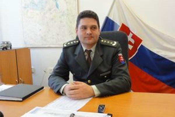 Nový policajný riaditeľ v Galante Marián Siska.