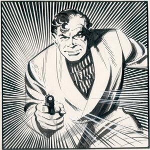 McLuskyho komiksová podoba Jamesa Bonda (1958).