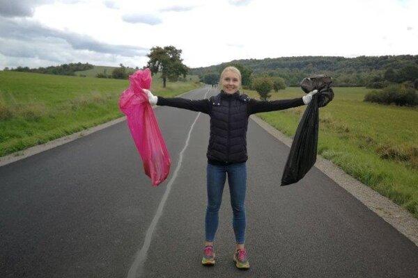 Gruntovalo sa aj na Polichne, odpadkov tam bolo málo.