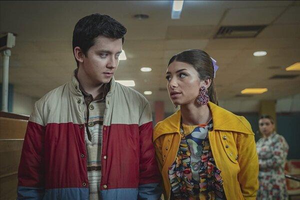 Otis a Ruby v tretej sérii Sex Education (2021)
