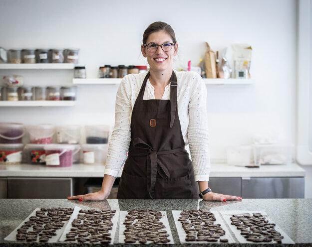 Katalin Papp Vargha vybudovala úspešnú malú čokoládovňu Chocomaze.