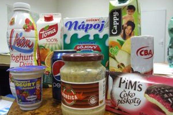 Europoslanci chcú mať na každom potravinárskom výrobku informáciu o obsahu cukrov, tukov, soli a nasýtených tukov.