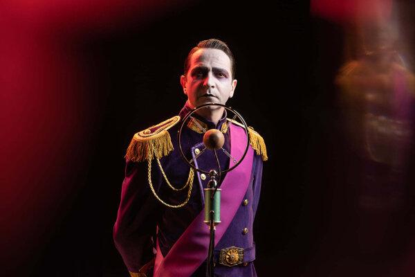 Boris Srník ako Albert - George VI.