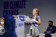 Na úvod podujatia vystúpila švédska klimatická aktivistka Greta Thunbergová.