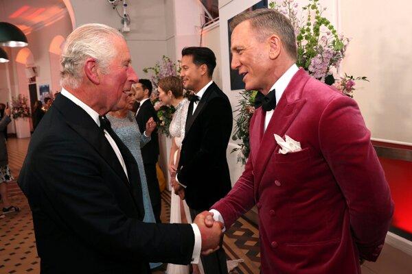 Na premiéru prišli aj členovia britskej kráľovskej rodiny.
