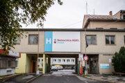 Nemocnica vo Zvolene.