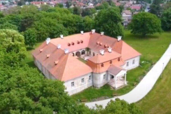 Kaštieľ v Želiezovciach.