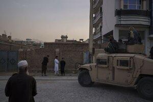 Ulica v Kábule.