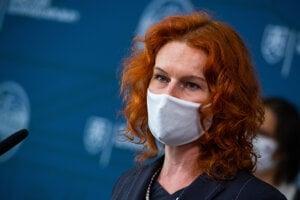 Generálna riaditeľka Sekcie Plánu obnovy na Úrade vlády SR Lívia Vašáková.