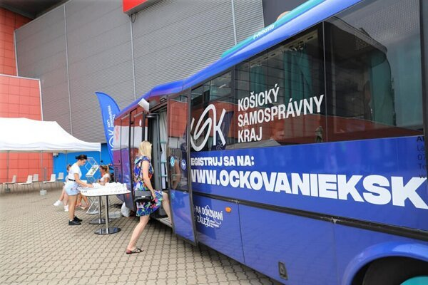 Očkovací autobus KSK opäť vyrazí do terénu.