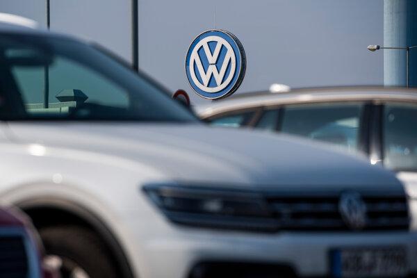 Závod Volkswagenu v Devínskej Novej Vsi.