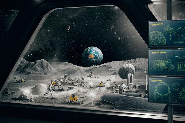 Rover by mal zbierať pôdu.