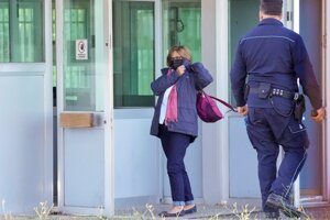 Paola Regeni, matka zabitého talianskeho doktoranda Giulia Regeniho.