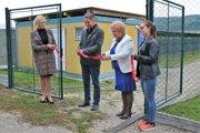 V Bánovciach slávnostne otvorili novú karanténnu stanicu.