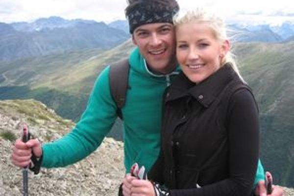 Peter s priateľkou Monikou z Prahy na dovolenke v Taliansku.