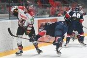 Zo zápasu HC Grotto Prešov vs. HC Slovan Bratislava.