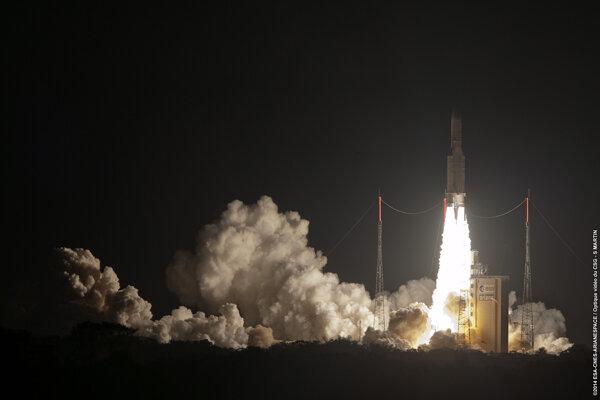 Francúzsko vyslalo do vesmíru svoju najmodernejšiu komunikačnú družicu