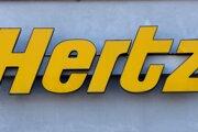 Americká sieť požičovní áut Hertz.