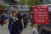 Mesto Lan-čou v strednej časti Číny.