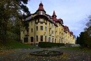 Grandhotel Praha v Tatranskej Lomnici.