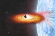 Ilustrácia binárnej sústavy s možnou mimogalaktickou planétou.