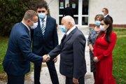 Boris Kollár sa stretol s vedením nemocnice a primátorom Partizánskeho Jozefom Božikom.
