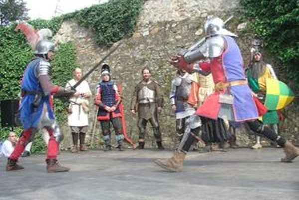 Na vlaňajších Cyrilo-metodských slávnostiach mal turnaj O meč kráľa Svätopluka svoju premiéru.