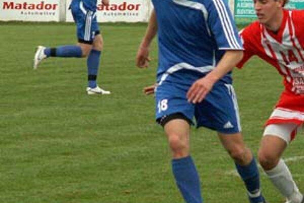 Tomáš Frťala, stredopoliar Vrábeľ bol jedným zo strelcov svojho tímu pri víťazstve v Bratislave.