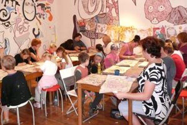 O Prázdninové maľovanie bol rekordný záujem zo strany detí aj dospelých.