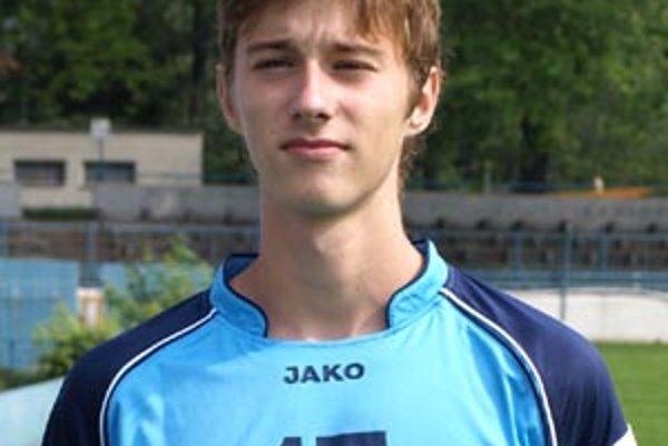 Ján Greguš má iba osemnásť rokov.
