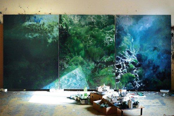 Nie náhodou sa výstava v Stredoslovenskej galérii volá Pracovná plocha.
