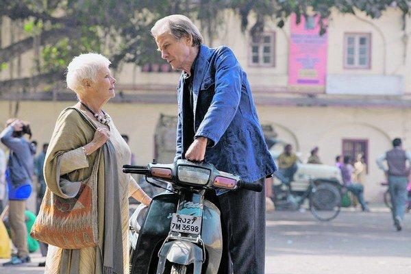 Judi Dench a Bill Nighy.