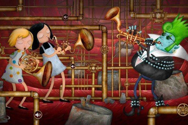 Na nový večerníček (Mimi a Líza, na obrázku) a bábkovú operu treba mať odvahu.