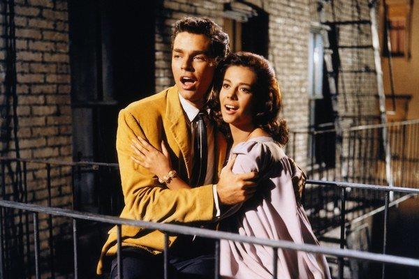 Natalie Wood a Richard Beymer ako Maria a Tony.