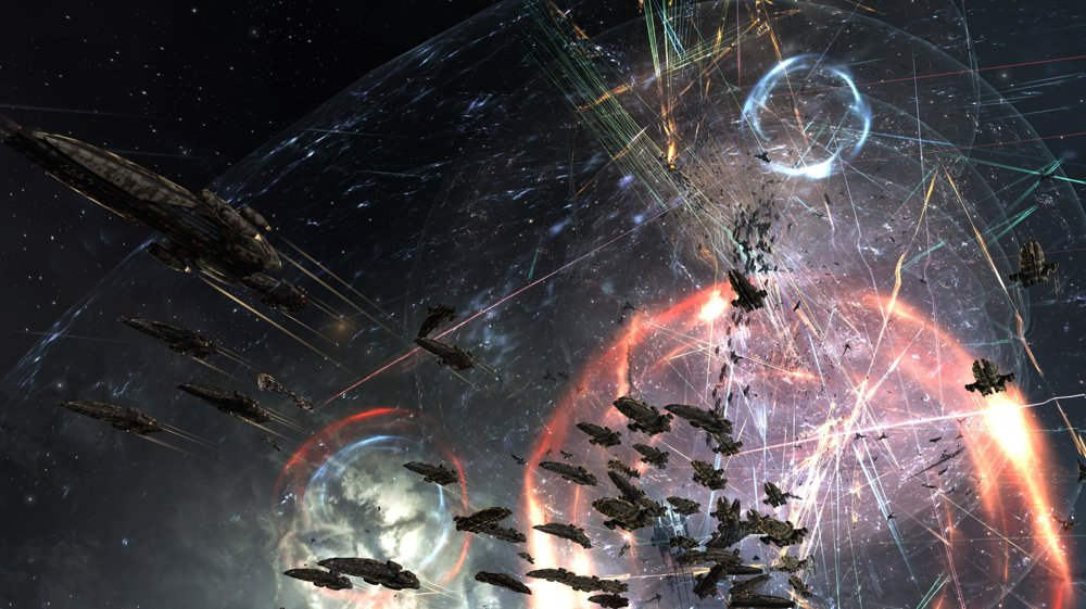Boje o sústavu M-OEE8 v hre Eve Online