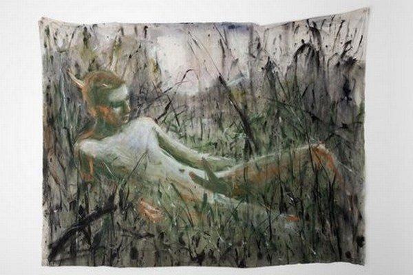 Z výstavy Andreja Dúbravského v bratislavskej galérii Zahorian & Co.