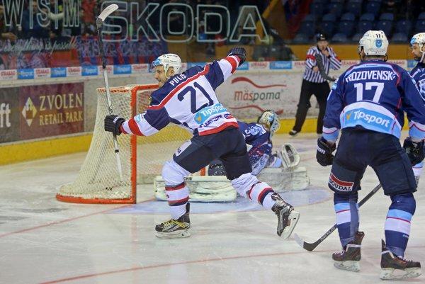 Radovan Puliš strelil jediný gól zápasu.