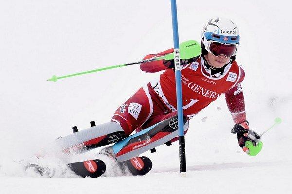 Henrik Kristoffersen je veľkým talentom nórskeho alpského lyžovania.