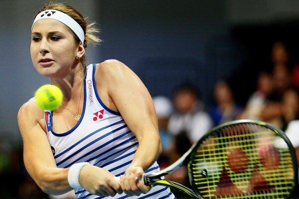 Belinda Bencicová je talentom nielen švajčiarskeho, ale celého svetového tenisu.